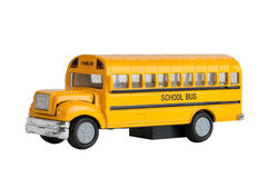 School Bus. Die Cast Model Toy Of A North American And Canadian Yellow School Bus Stock Image