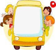 School bus. Royalty Free Stock Photos