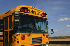 School Bus. Front royalty free stock photo