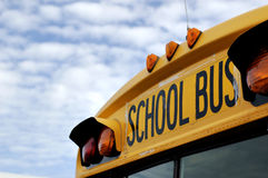 School Bus. Transporting children home after school Royalty Free Stock Image