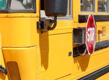 School Bus. Close Up of a school bus Stock Photography