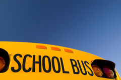 School Bus. Under A Blue Sky Royalty Free Stock Image
