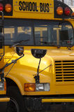 School Bus. Close Up Stock Photos