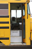School Bus. Door Royalty Free Stock Image