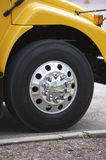 School Bus. Detail Royalty Free Stock Photo