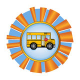 School Bus Award Royalty Free Stock Photo