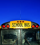 School Bus with Blue Sky Royalty Free Stock Photography