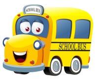 School bus cartoon Royalty Free Stock Photo