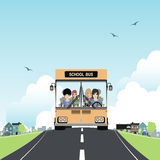 School bus. Royalty Free Stock Images