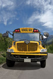 School bus in the country Royalty Free Stock Photo