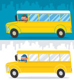 School Bus Driver Royalty Free Stock Photography