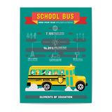 School Bus Element of Education Stock Photo