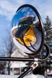 School Bus Fisheye Royalty Free Stock Photos