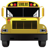 School bus front Stock Images