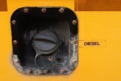 School Bus Fuel Cap Royalty Free Stock Image