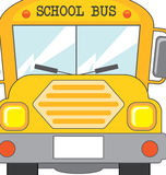 School bus. Icon over white background  illustration Stock Photos
