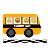 School bus illustration royalty free illustration
