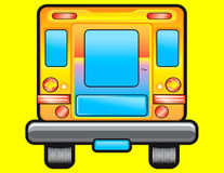 School bus illustration Stock Photo