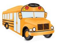 School bus illustration 2 Royalty Free Stock Photo