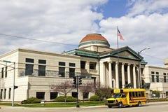 School bus in Oshkosh Stock Photo