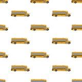 School bus pattern Stock Photos