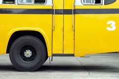 School bus. royalty free stock photo