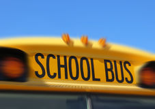 School bus sign Stock Photography