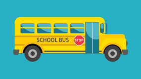 School bus stock illustration