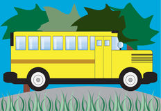 School Bus Stock Image