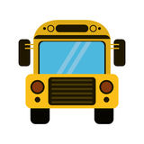 School bus transport design Stock Images