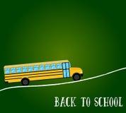 School bus vector. Back to school Stock Images