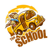 School Bus Vector Stock Images