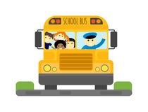 School bus vector  Royalty Free Stock Photo