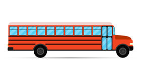School bus vector Royalty Free Stock Image