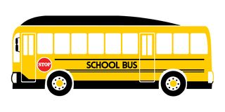 School bus yellow illustration vector vector illustration