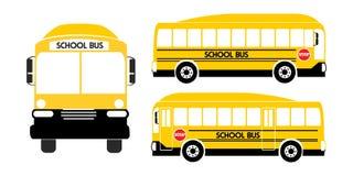 School bus yellow illustration vector vector illustration