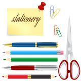School And Business Stationery Stock Photo