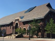 School of Business at University of Connecticut in Storrs Stock Photos