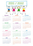 School calendar Stock Images