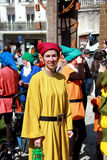 School Carnival seven dwarfs Stock Photography