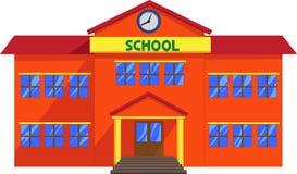 School cartoon vector illustration