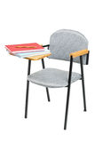 School chair with books on it Stock Images