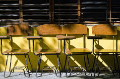 School Chairs Royalty Free Stock Photo