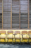 School Chairs Royalty Free Stock Image