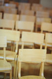 School chairs Stock Images
