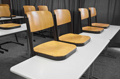 School chairs Royalty Free Stock Photography