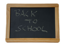 School chalkboard Royalty Free Stock Photo