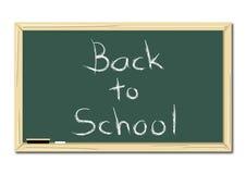 School Chalkboard Stock Image