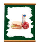School chalkboard Stock Photos