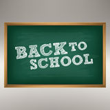 School Chalkboard Stock Photos